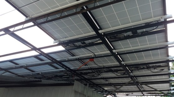 Under View of ACPV Modules